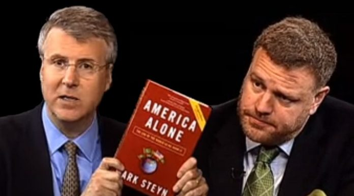 """""""The World As We Know It"""" with Mark Steyn."""