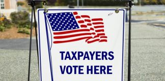 Taxpayers Vote Here