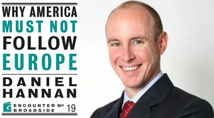 Why America Must Not Follow Europe by Daniel Hannan