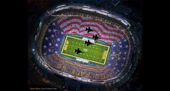 Thank You Veterans Lambeau Field 11/14/11