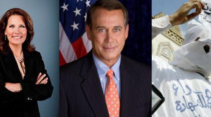 Bachmann, Boehner and the Brotherhood