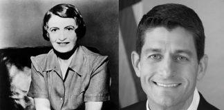 Ann Rand & Paul Ryan