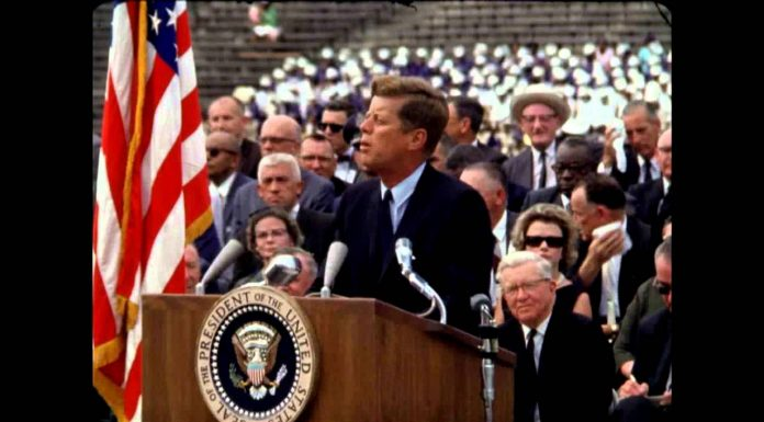 John F. Kennedy's Address U.S. involvement in the Race for Space