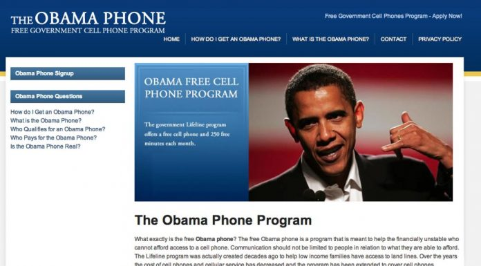 Obama Phone Program