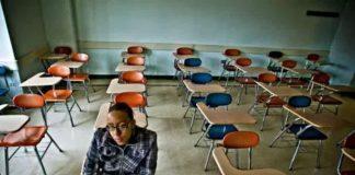 Empty College Classrooms
