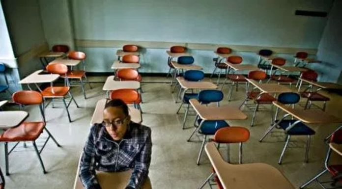 Empty College Classrooms