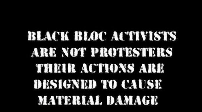 Black Block Activists