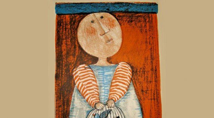 Boy with Bird Cage - Graciela Rodo Boulanger