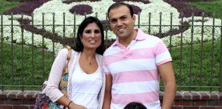 Pastor Saeed Abedini and family 2012
