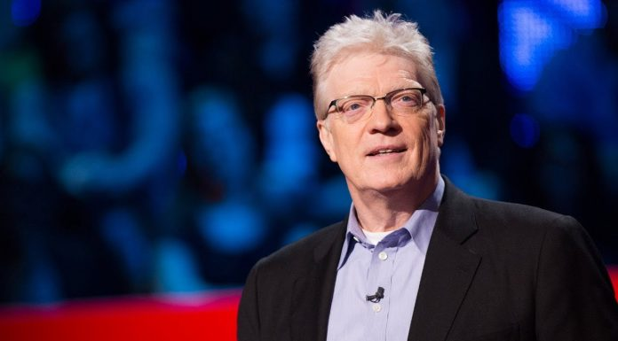 "Education is about ""learning"" says Sir Ken Robinson"