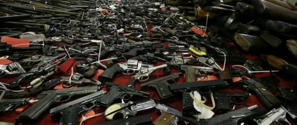 Confiscated Guns