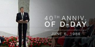 President Ronald Reagan's Address Commemorating 40th Anniversary of D-Day
