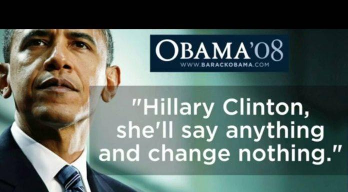 Obama Campaigns For TRUMP