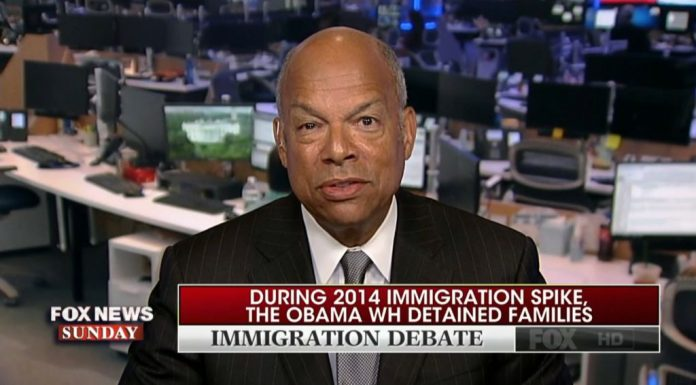 Jeh Johnson discusses detention facilities