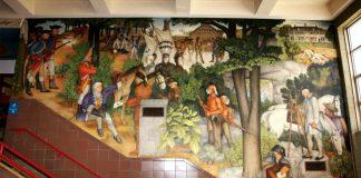 Life of Washington Mural
