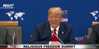 Trump speech from the Religious Freedom Summit 2019