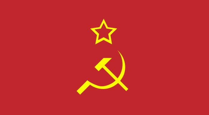 Symbol on the flag of the Soviet Union