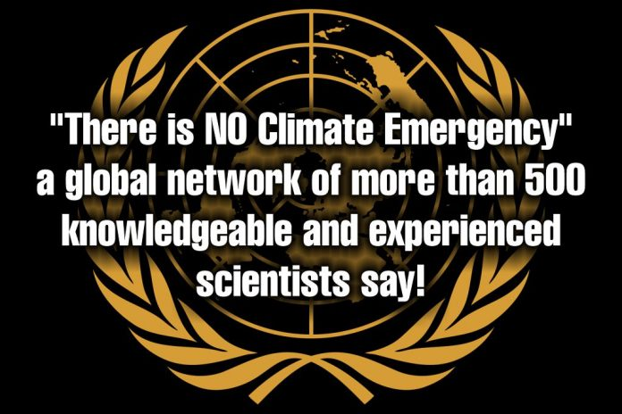 NO Climate Emergency