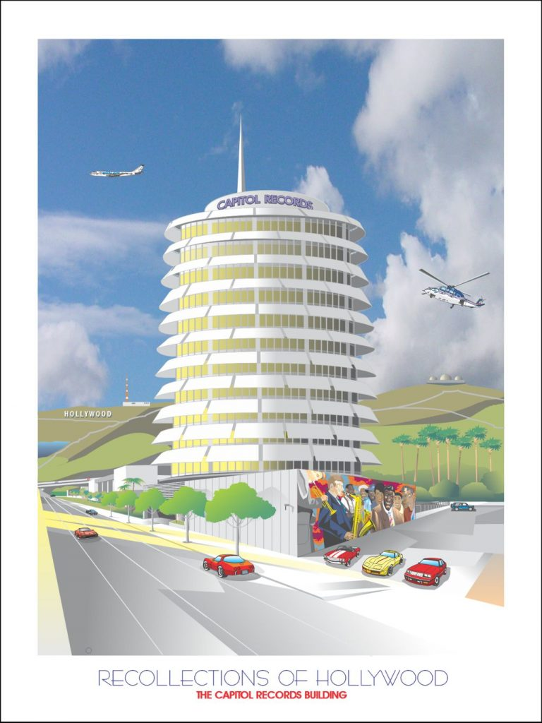 Recollections of Hollywood: Capitol Records by Jim Van Schaack