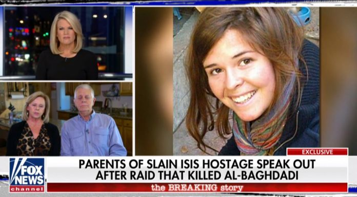 Kayla Mueller's Parents on Fox