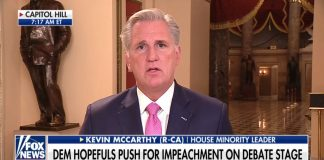 Kevin McCarthy about Pelosi impeachment strategy