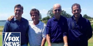 Photo of Bidens Golfing with Board Member of Ukraine's Burisma Holdings Devon Archer