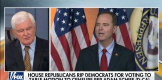 Newt Gingrich on Schiff's Fraudulent Trump Impeachment