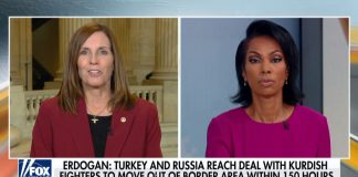 Sen. Martha McSally: Turkey turning to Russia