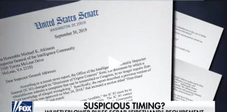 Timing of whistleblower complaint rule change
