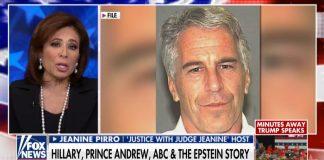 Jeanine Pirro on Epstein