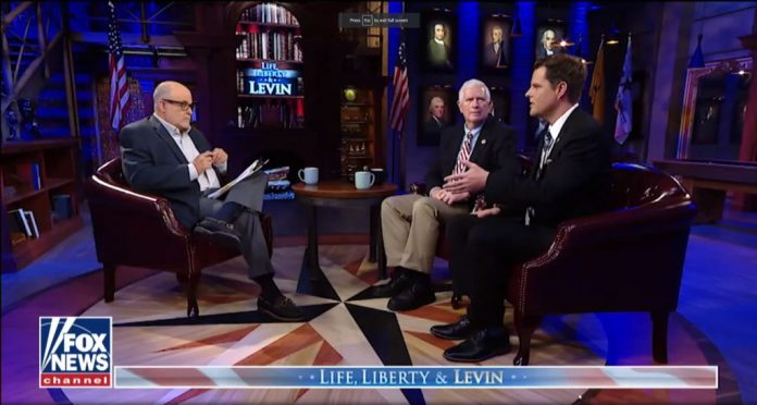 Reps. Matt Gaetz and Mo Brooks talk Trump impeachment on Life, Liberty and Levin.