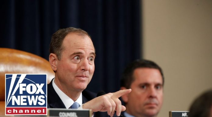 Schiff interrupts and instructs Taylor on answering GOP's question