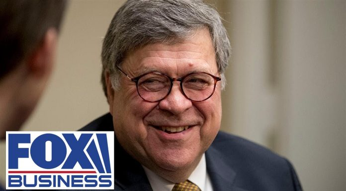 AG Barr speaks at the Federalist Society's National Lawyers Convention