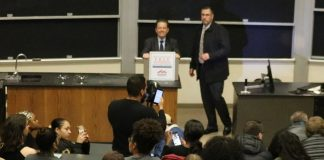 Protesters Shut Down Arthur Laffer Event at Binghamton University