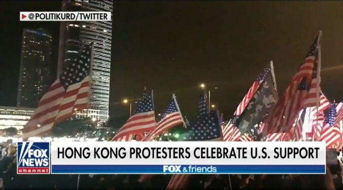 Trump supports Hong Kong