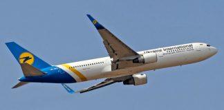 Ukraine International Airlines (UIA) Boeing 737-800