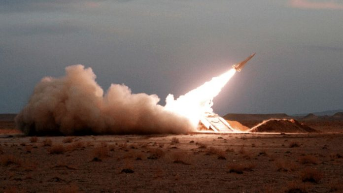 Iran launched-missiles into Iraq against US troops