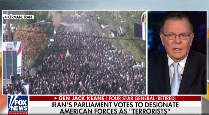 Jack Keane on Iran