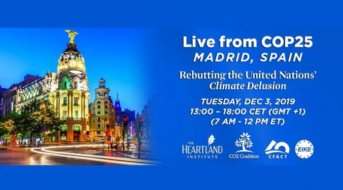 Climate Reality Forum 2019 by Heartland Institute