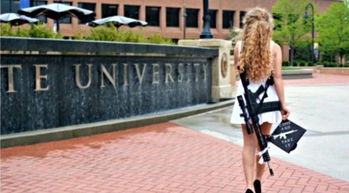 Kent State Gun Girl