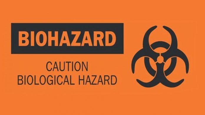BIOHAZARD: Caution Biological Hazard