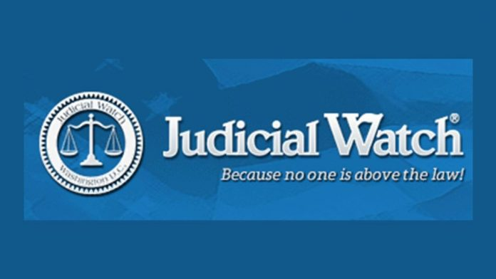 Judicial Watch: Because no one is above the law!