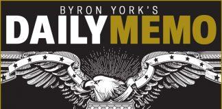 Byron York's Daily Memo