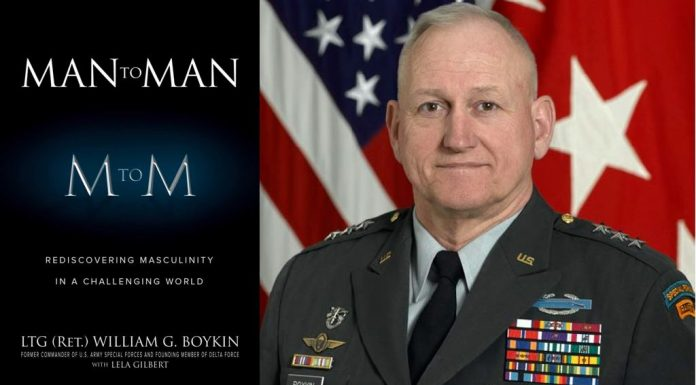 Man to Man: Rediscovering Masculinity in a Challenging World LTG William G. Boykin