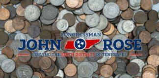 Rep John Rose Coin Shortage