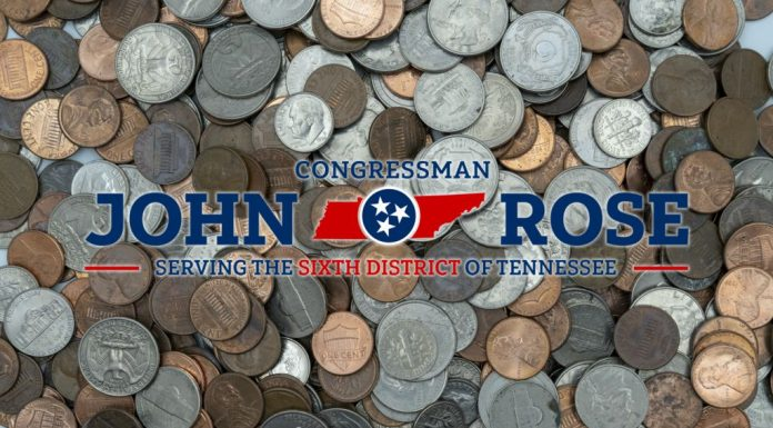Rep John Rose Coin Shortage