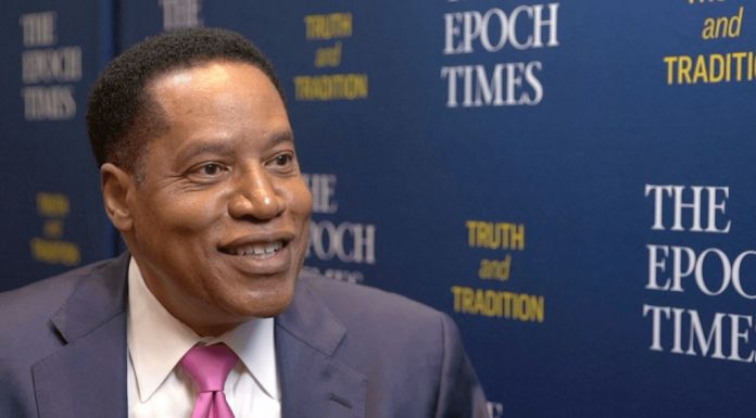 Larry Elder with Epoch Times