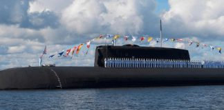 Orel nuclear-powered cruise missile submarine