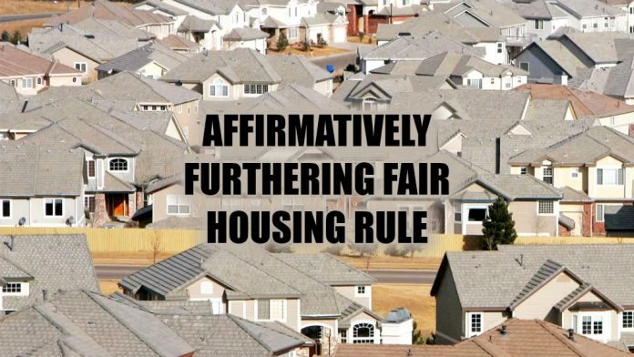 Affirmatively Furthering Fair Housing Rule