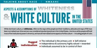 Aspects & Assumptions of WHITENESS & WHITE CULTURE in the United States